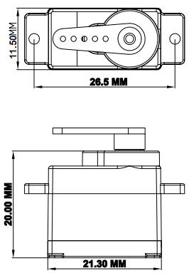 小型舵机电路图